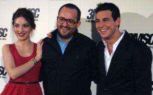 María Valverde, Fernando González Molina, y Mario Casas en la presentación de 3 metros sobre el cielo (2)