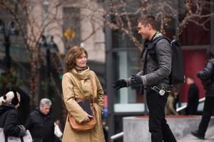 Zac Efron y Michelle Pfeiffer