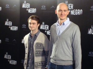 Daniel Radcliffe y James Watkins