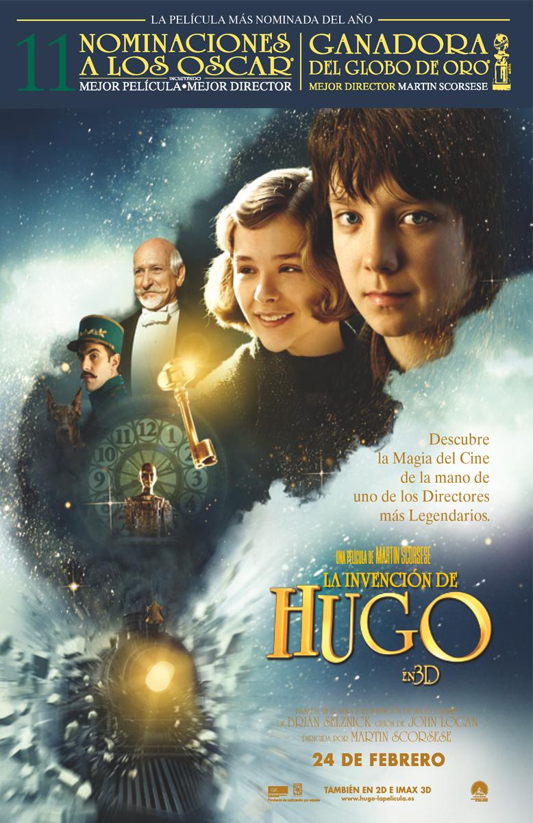 La invención de Hugo: Scorsese se adapta al 3D