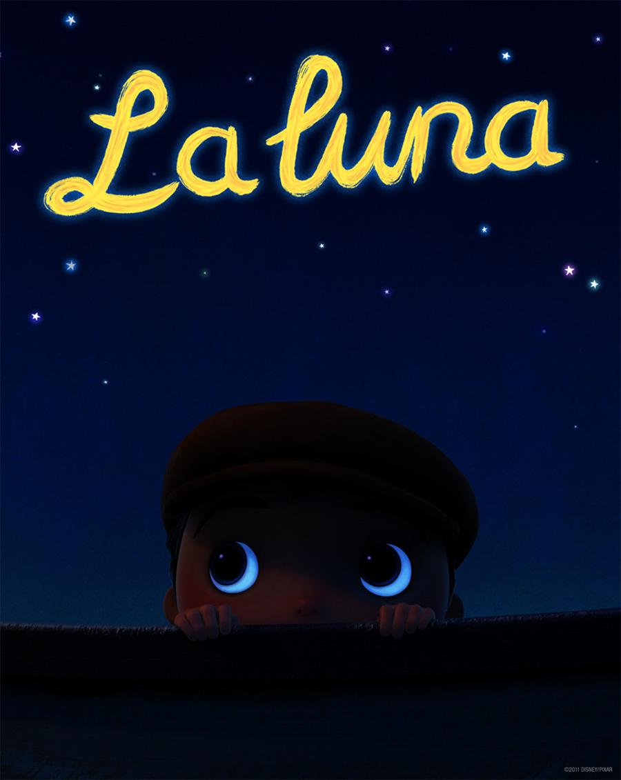 Escena del nuevo corto de Pixar: La luna