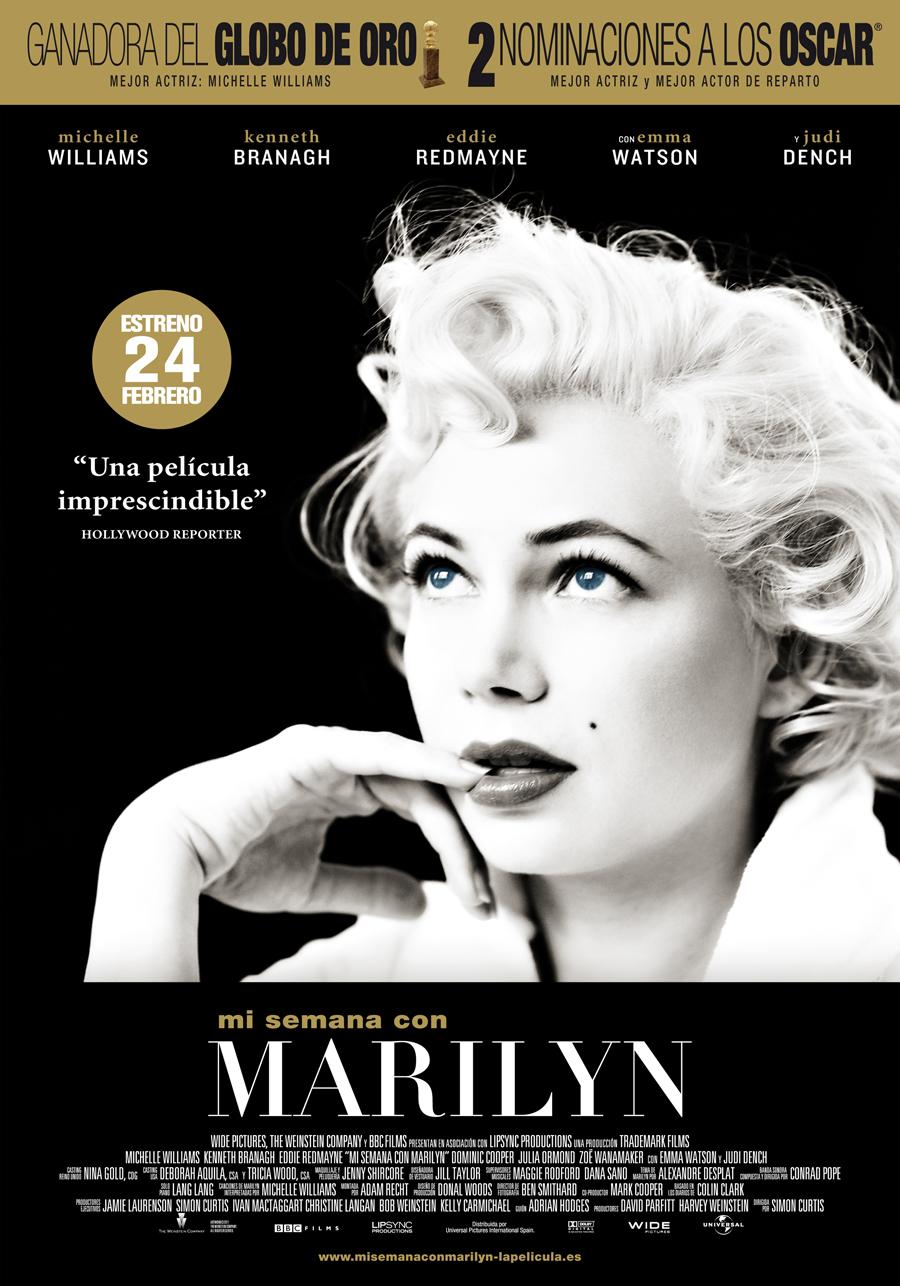 Mi semana con Marilyn: Plato preparado