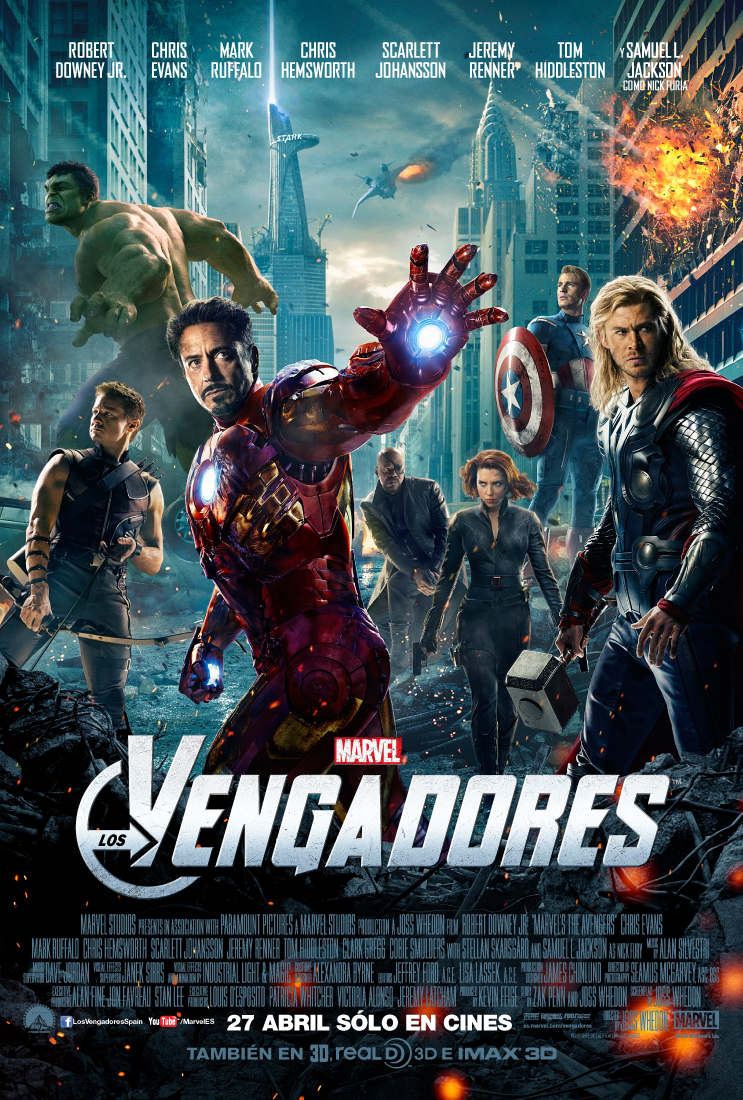 Los vengadores – Trailer final