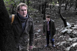 Colm Meaney y Guiem Juaneda en El perfecto desconocido