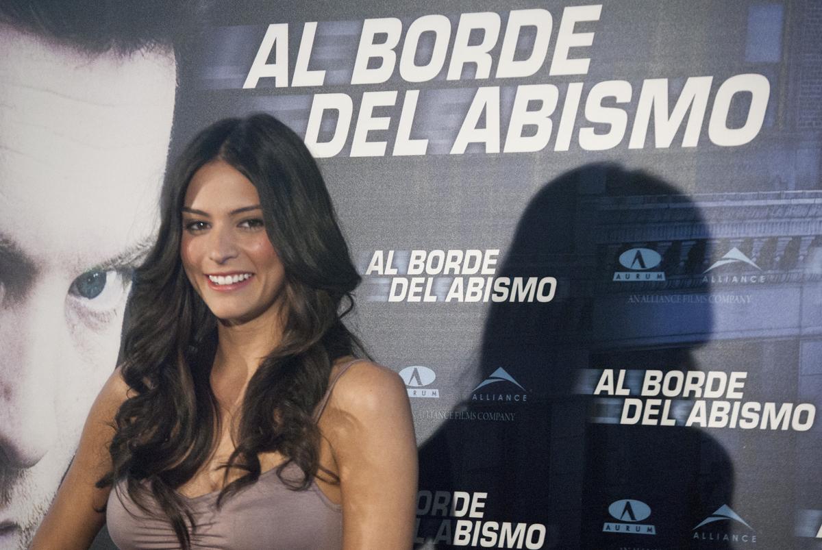 """Génesis Rodríguez: """"Amo este país"""""""