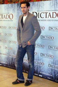 Juan Diego Botto en Dictado photocall 2