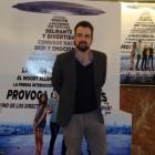 Nacho Vigalondo en la presentación de Extraterrestre