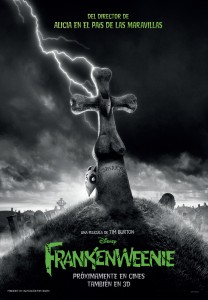 Frankenweenie Teaser poster