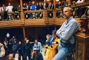 James Cameron en el rodaje de Titanic