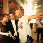 Kate Winslet, Leonardo DiCaprio y James Cameron