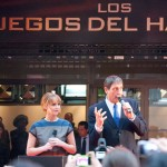 Jenniffer Lawrence presentando los clips