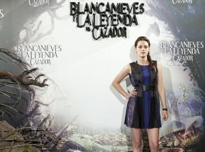 Kristen Stewart en la presentación de Blancanieves y la leyenda del cazador
