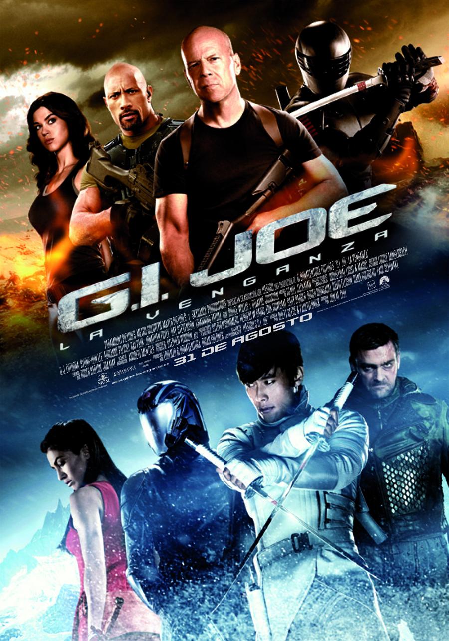 Se retrasara el estreno de G.I. Joe: La venganza para añadirle el 3D