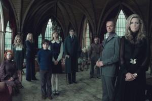 La familia Collins en Sombras tenebrosas