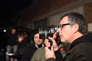 Eduard Cortés en el rodaje de The Pelayos