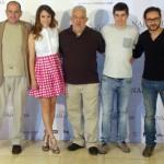 Karra Elejalde, Blanca Suárez, Imanol Uribe, Iban Garate, y Carlos Santos