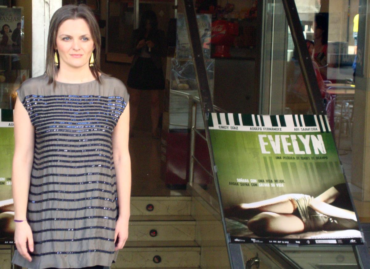 Isabel de Ocampo: «He ido mucho al cine»
