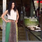 Guadalupe Lancho en la presentación de Evelyn (2)