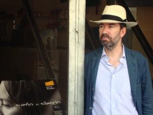 Jaime Rosales en la presentación de Sueño y silencio