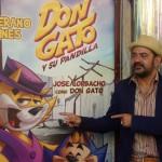 José Corbacho en la presentación de Don gato y su pandilla (2)
