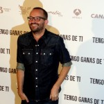 Fernando González Molina en la presentación de Tengo ganas de ti