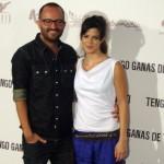 Fernando González Molina y Clara Lago en la presentación de Tengo ganas de ti (3)
