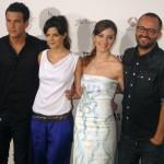 Mario Casas, Clara Lago, María Valverde, y Fernando González Molina en la presentación de Tengo ganas de ti (2)