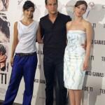 Clara Lago, Mario Casas, y María Valverde en la presentación de Tengo ganas de ti (2)