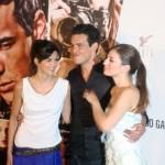 Clara Lago, Mario Casas, y María Valverde en la presentación de Tengo ganas de ti (5)