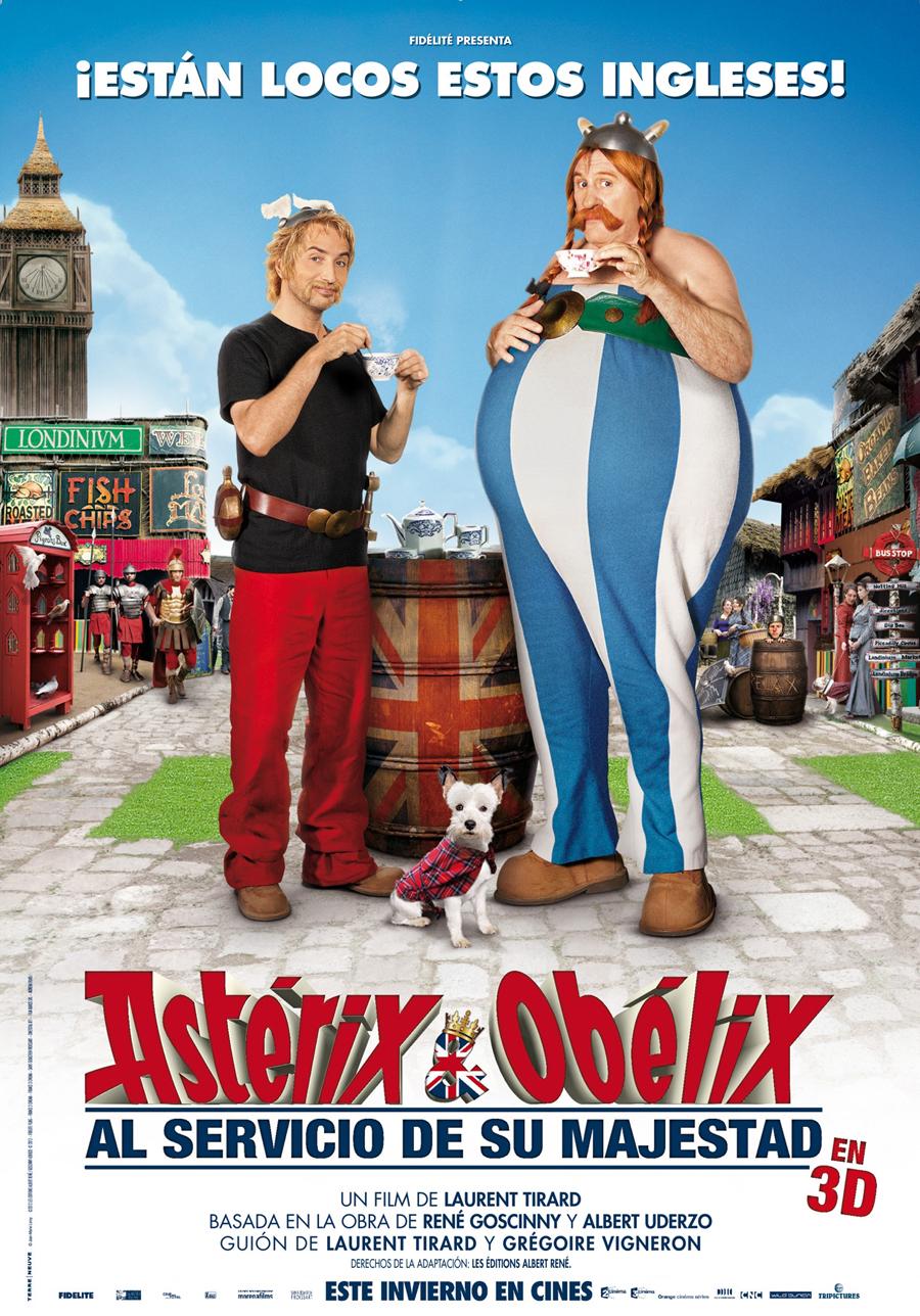 Astérix y Obélix al servicio de su majestad: Primer trailer