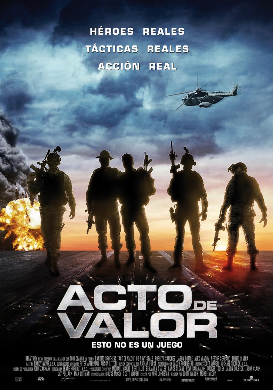 Acto de valor: Call of duty en imagen real