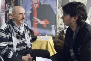Angelo Stano entrevistado por Ignacio Estrada en Expocomic Madrid 2011