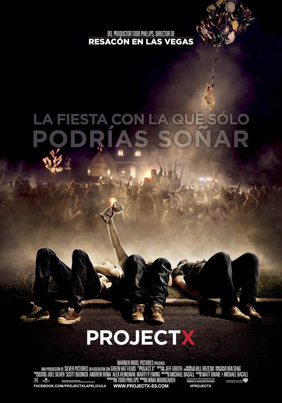 Consigue un DVD de Project X