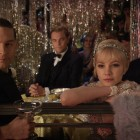 Tobey Maguire, Leonardo DiCaprio, y Carey Mulligan en El gran Gastby (2012)