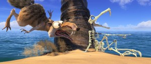 Scrat en Ice age 4: La formacin de los continentes