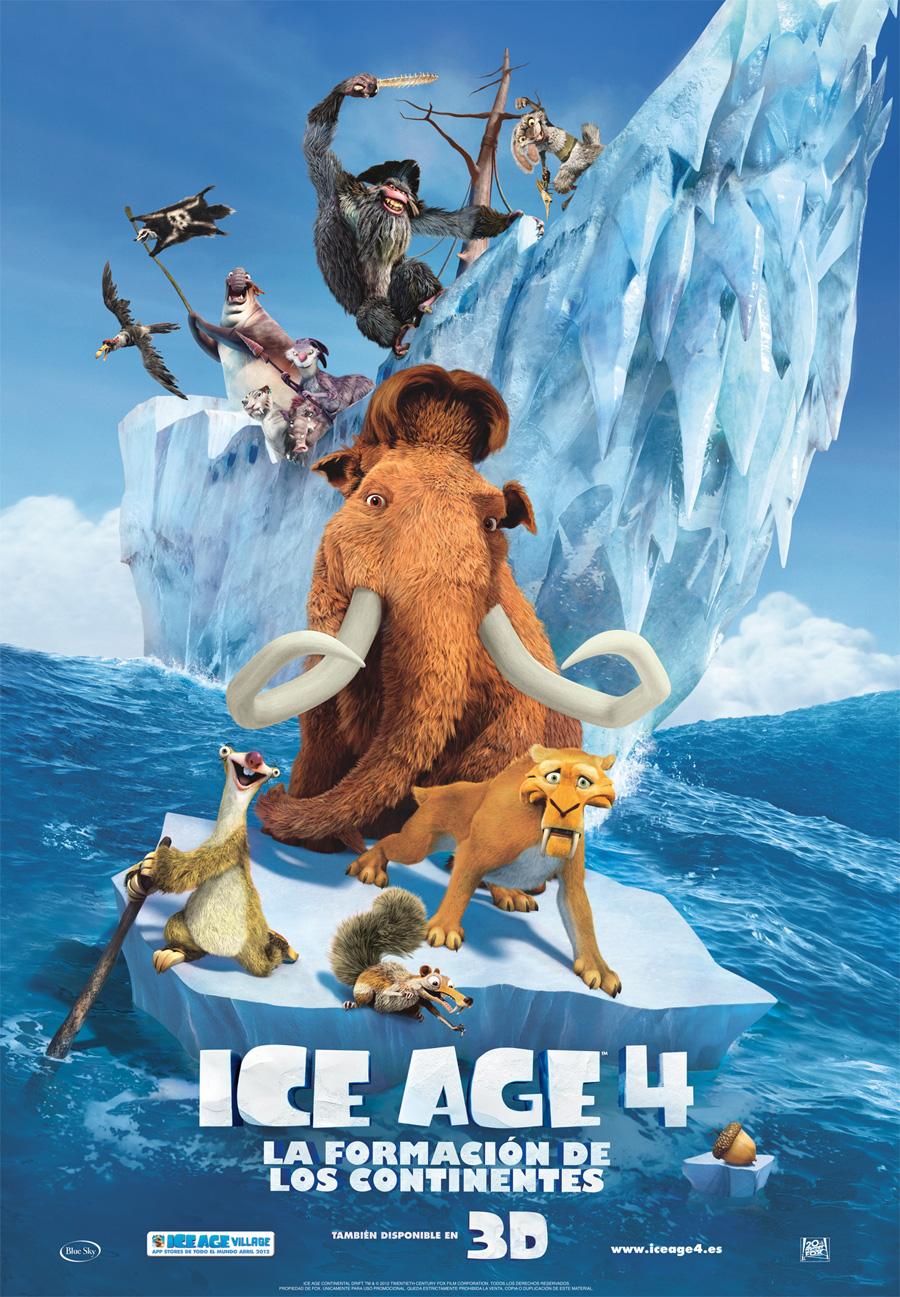Ice age 4: La formación de los continentes: Otra más