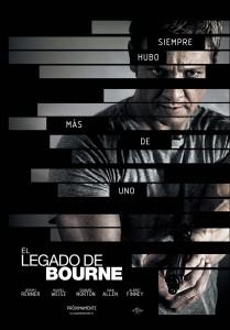 El legado de Bourne Teaser Poster