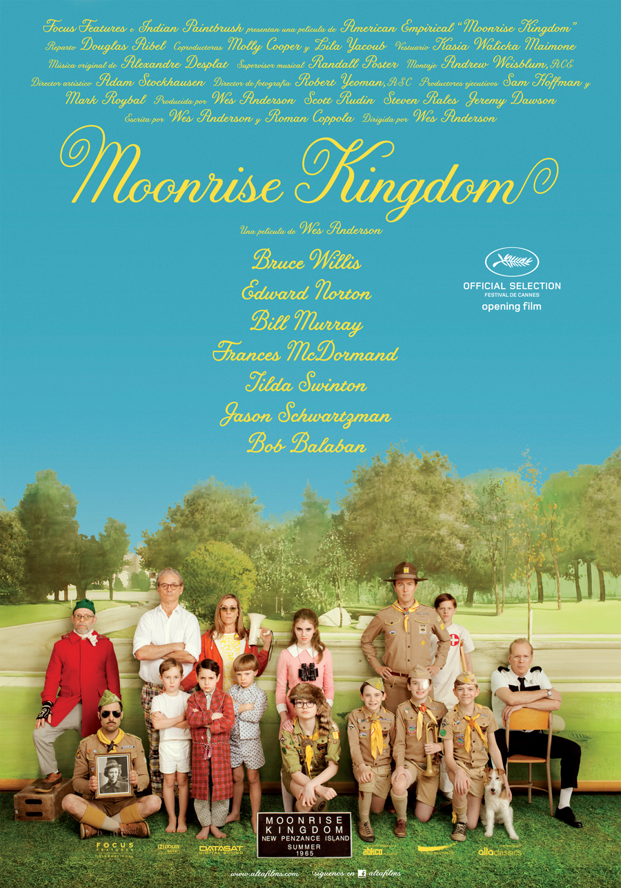 Moonrise Kingdom: Amor, boy scouts, y mucho retro