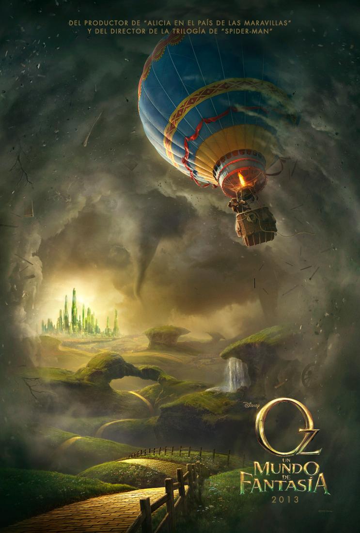 Oz, un mundo de fantasía: Primer trailer