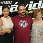 Marta Torné, Carlos Therón y Carolina Bona en la presentación de Impávido (2)