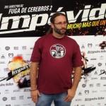 Carlos Therón en la presentación de Impávido