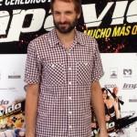 Julián Villagrán en la presentación de Impávido