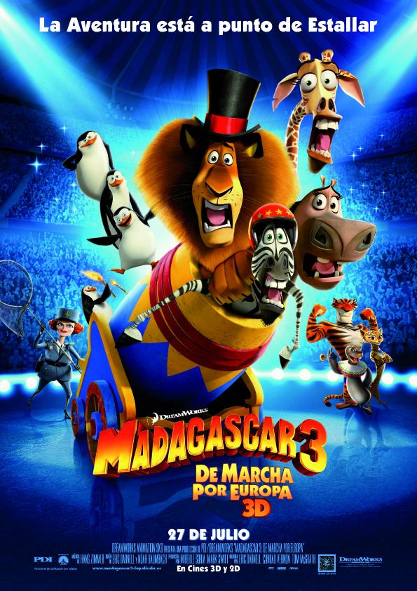 Madagascar 3: De marcha por Europa: Surrealismo al poder