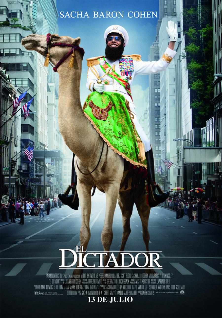 El dictador: Baron Cohen maderfaker