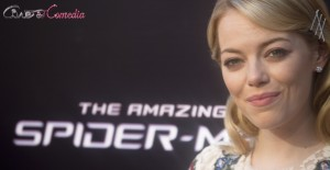 Emma Stone en la presentación de The amazing Spiderman (2)
