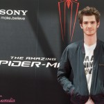 Andrew Gardfield en la presentación de The amazing Spiderman