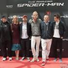 El equipo artístico de The amazing Spiderman