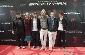 El equipo artístico de The amazing Spiderman