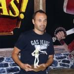 Andrés Iniesta en la presentación de ¡Piratas! (4)