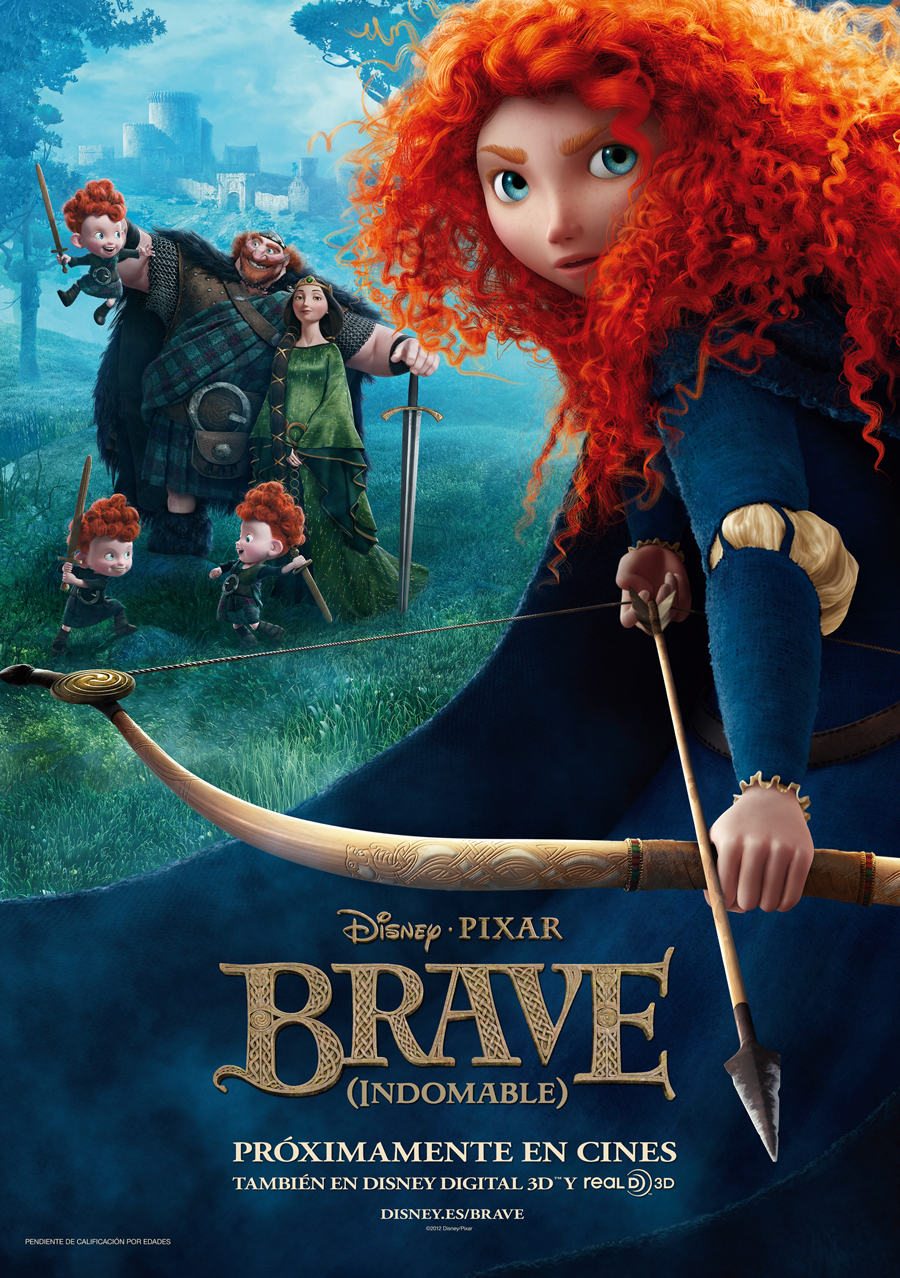 Brave (Indomable): ¡¡¡Que pelazo!!!